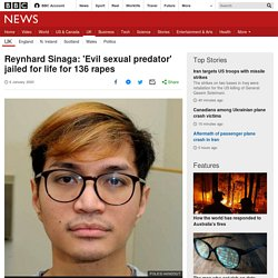 Reynhard Sinaga: 'Evil sexual predator' jailed for life for 136 rapes