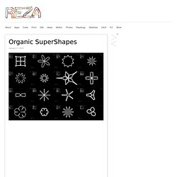 Organic SuperShapes