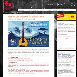 MUSIQUE : festival Les Instants du Monde à Rezé jusqu'au 22