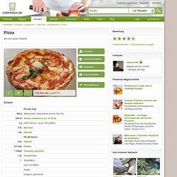 Pizza (Rezept mit Bild) von Hellcat1980