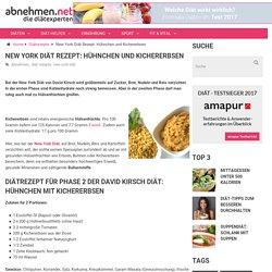 New York Diät Rezept: Hühnchen und Kichererbsen