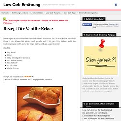 Rezept für Vanille-Kekse