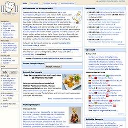 Rezepte-Wiki