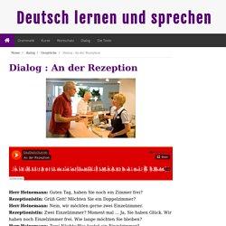 Deutsch lernen und sprechen