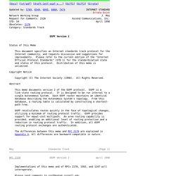 RFC 2328 - OSPF Version 2
