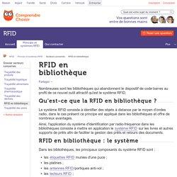 RFID en bibliothèque : mise en place de la RFID en bibliothèque