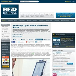 RFID Pops Up in Mobile Interactive Stores - Page 4