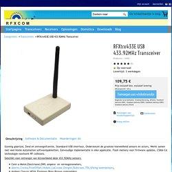 RFXtrx433E USB 433.92MHz Transceiver