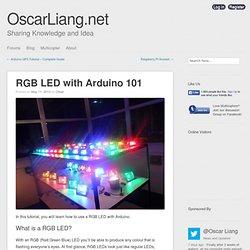 RGB LED with Arduino 101
