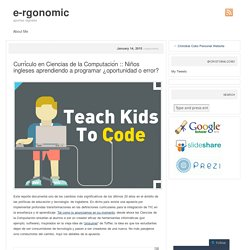 blog apuntes digitales e-rgonomic
