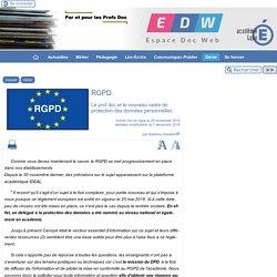 RGPD - [Espace Doc Web]