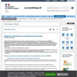 RGPD - ac-martinique.fr