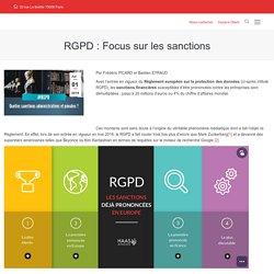RGPD : Focus sur les sanctions