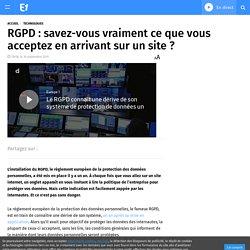 RGPD Protection données Europe