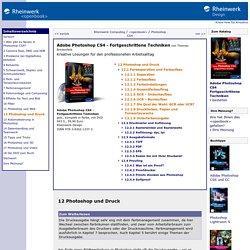 Adobe Photoshop CS4 - Fortgeschrittene Techniken – 12 Photoshop und Druck