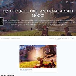 rgMOOC (MOOCs retóricos y basados en juegos)