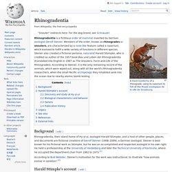 Rhinogradentia