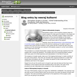 EdVFCByF: neeraj kulkarni: Rhinoplasty Surgery in Kuwait - A Brief Understanding of the Procedures, Costs and Recovery