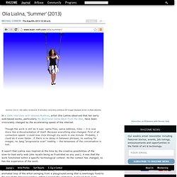 Olia Lialina, 'Summer' (2013)