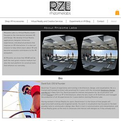 Rhizome Labs - Virtual Reality Products and experiences.