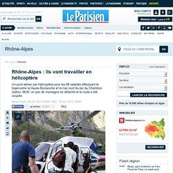Le Parisien : ils vont travailler en hélicoptère