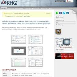 RHQ (formerly Jopr)