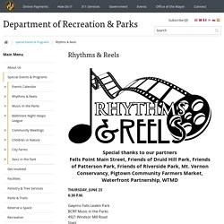 Department of Recreation & Parks