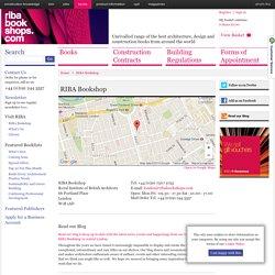 RIBA Bookshop RIBA Bookshop