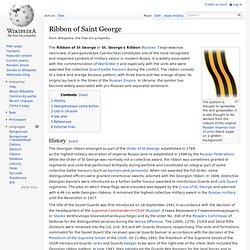 Ribbon of Saint George