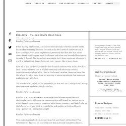 Ribollita - Tuscan White Bean Soup Recipe
