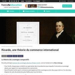 Ricardo, une théorie du commerce international