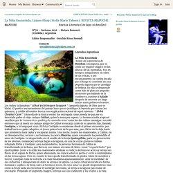 Ricardo Pérez-Salamero García's Blog - La Niña Encantada, Lázaro Flury (Stella Maris Taboro). REVISTA MAPUCHE - June 26, 2016 02:31