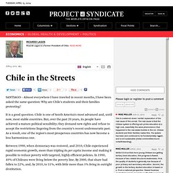 """Chile in the Streets"" by Ricardo Lagos"