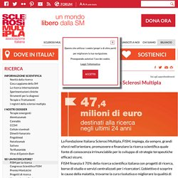 Sei un ricercatore?-FISM per la ricerca - Associazione Italiana Sclerosi Multipla