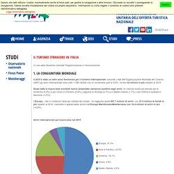 Studi e ricerche - ENIT - Agenzia Nazionale del Turismo
