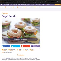 Ricetta Bagel farcito