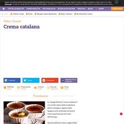 Ricetta Crema catalana