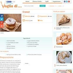 Ricetta - Cronut - Voglia di ricette