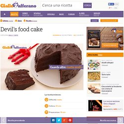 Ricetta Devil's food cake