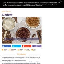 Ricetta Risolatte - Le Ricette di GialloZafferano.it