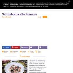Ricetta Saltimbocca alla Romana