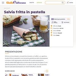 Ricetta Salvia fritta in pastella