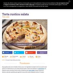 Ricetta Torta rustica salata