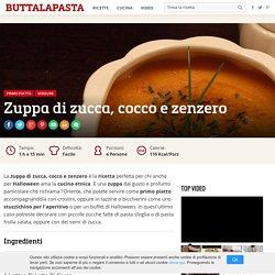 Ricetta Zuppa di zucca, cocco e zenzero