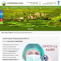 A Rich Culture Threatened By COVID-19