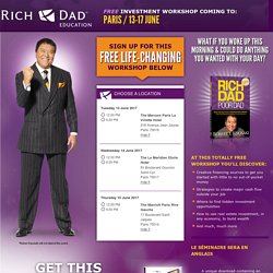 Rich Dad Education FREE Workshop