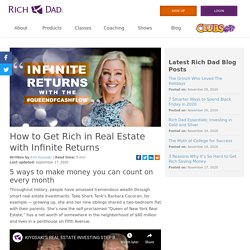 How to Get Rich in Real Estate with Infinite Returns