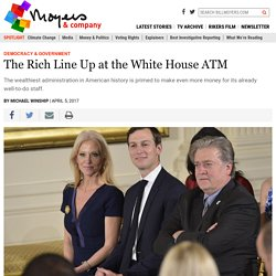 The Rich Line Up at the White House ATM – BillMoyers.com