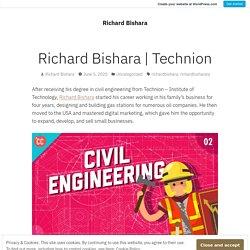 Technion – Richard Bishara