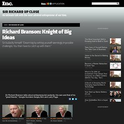 Sir Richard Branson: Knight of Big Business Ideas